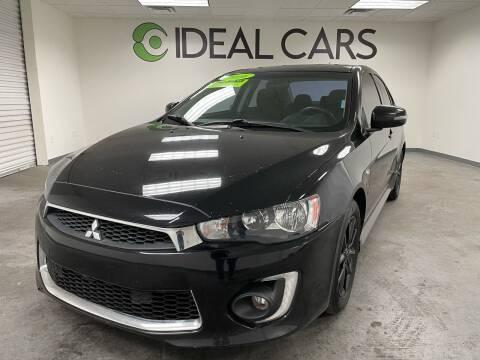 2016 Mitsubishi Lancer for sale at Ideal Cars in Mesa AZ