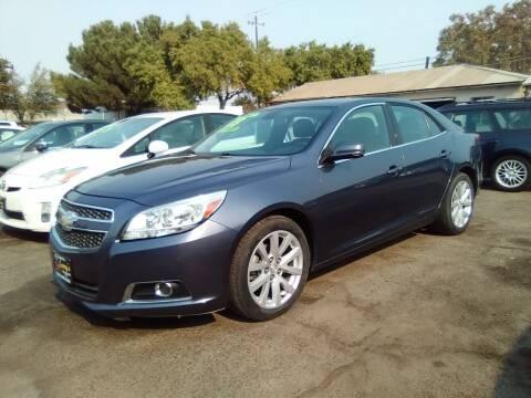 2013 Chevrolet Malibu for sale at Larry's Auto Sales Inc. in Fresno CA
