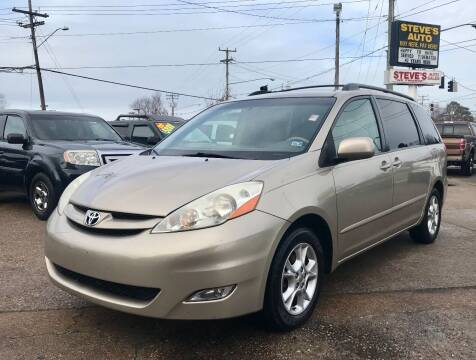 2006 Toyota Sienna for sale at Steve's Auto Sales in Norfolk VA