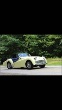 1959 Triumph TR3 for sale at Elite Cars Pro - Classic cars for export in Hollywood FL
