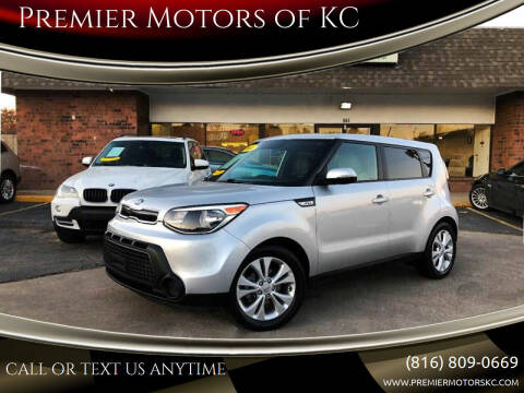 2014 Kia Soul for sale at Premier Motors of KC in Kansas City MO