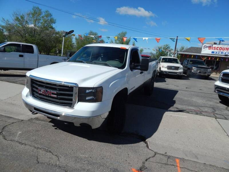 2009 GMC Sierra 2500HD for sale at Dave's discount auto sales Inc in Clearfield UT