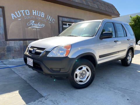 2003 Honda CR-V for sale at Auto Hub, Inc. in Anaheim CA