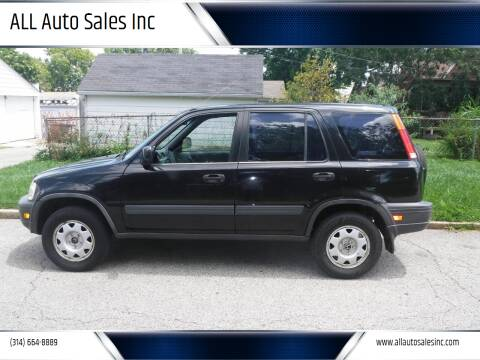1998 Honda CR-V for sale at ALL Auto Sales Inc in Saint Louis MO