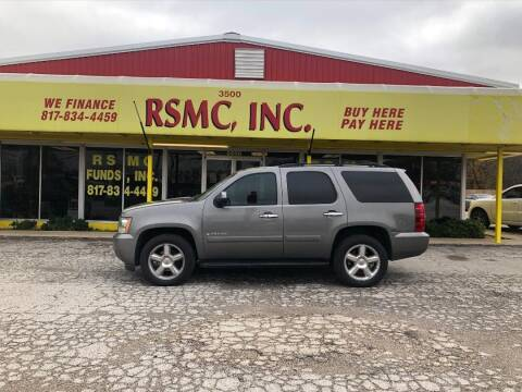 2007 Chevrolet Tahoe for sale at Ron Self Motor Company in Fort Worth TX