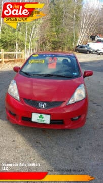 2011 Honda Fit for sale at Shamrock Auto Brokers, LLC in Belmont NH