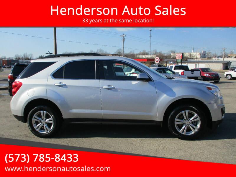 2015 Chevrolet Equinox for sale at Henderson Auto Sales in Poplar Bluff MO