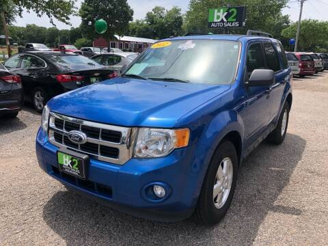 2012 Ford Escape for sale at BK2 Auto Sales in Beloit WI