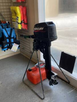 2005 Mercury 15hp Long Shaft Electric Start for sale at Champlain Valley MotorSports in Cornwall VT
