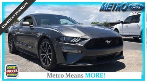 2018 Ford Mustang for sale at Your First Vehicle in Miami FL