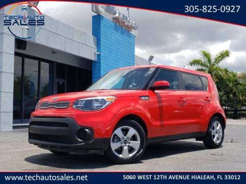 2019 Kia Soul for sale at Tech Auto Sales in Hialeah FL