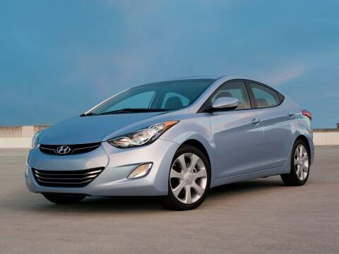 2012 Hyundai Elantra for sale at Bill Gatton Used Cars - BILL GATTON ACURA MAZDA in Johnson City TN