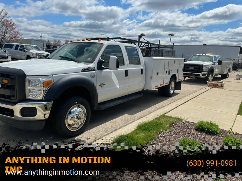 2013 Ford F-550 for sale at ANYTHING IN MOTION INC in Bolingbrook IL
