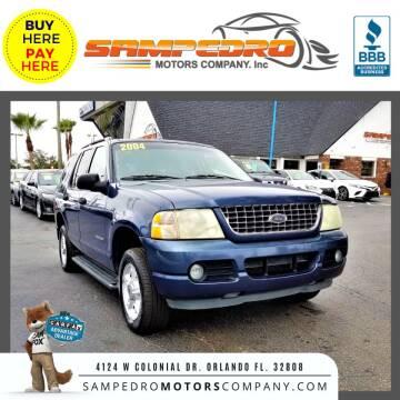 2004 Ford Explorer for sale at SAMPEDRO MOTORS COMPANY INC in Orlando FL