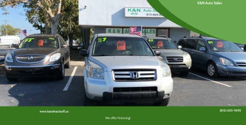 2007 Honda Pilot for sale at K&N Auto Sales in Tampa FL