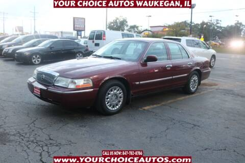 2004 Mercury Grand Marquis for sale at Your Choice Autos - Waukegan in Waukegan IL