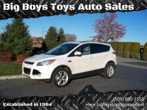 2015 Ford Escape for sale at Big Boys Toys Auto Sales in Spokane Valley WA