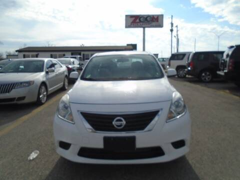 2014 Nissan Versa for sale at Zoom Auto Sales in Oklahoma City OK