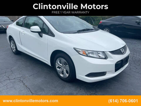 2013 Honda Civic for sale at Clintonville Motors in Columbus OH