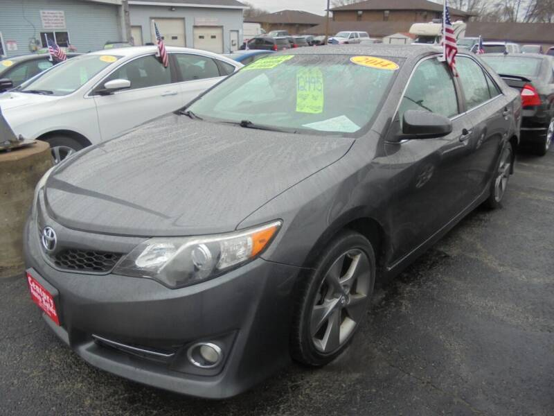 2014 Toyota Camry for sale at Century Auto Sales LLC in Appleton WI