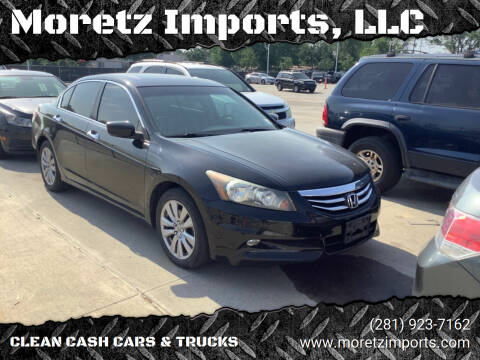 2012 Honda Accord for sale at Moretz Imports, LLC in Spring TX