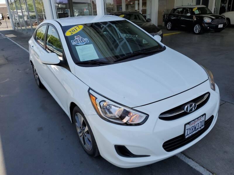 2017 Hyundai Accent for sale at Sac River Auto in Davis CA
