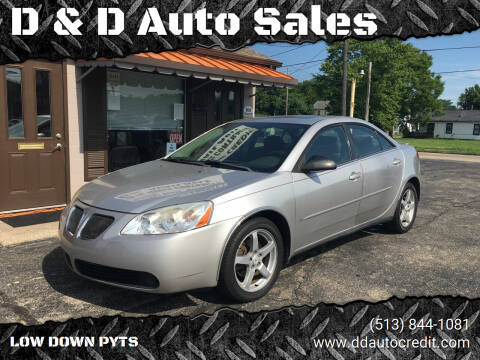 2007 Pontiac G6 for sale at D & D Auto Sales in Hamilton OH