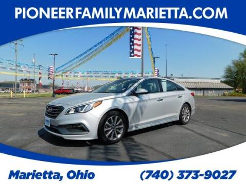 2017 Hyundai Sonata for sale at Pioneer Family preowned autos in Williamstown WV