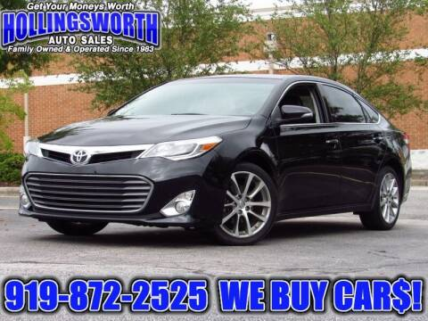 2015 Toyota Avalon for sale at Hollingsworth Auto Sales in Raleigh NC