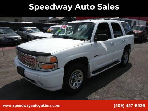 2002 GMC Yukon for sale at Speedway Auto Sales in Yakima WA