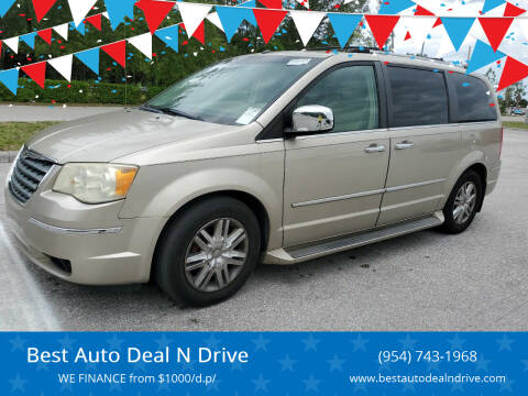 2008 Chrysler Town and Country for sale at Best Auto Deal N Drive in Hollywood FL