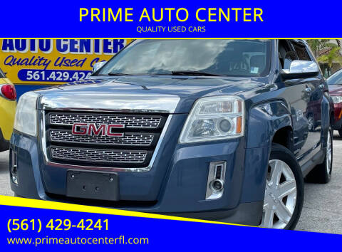 2011 GMC Terrain for sale at PRIME AUTO CENTER in Palm Springs FL
