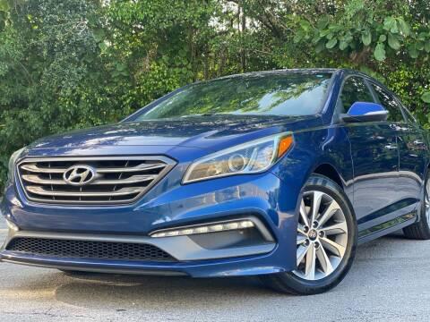 2015 Hyundai Sonata for sale at HIGH PERFORMANCE MOTORS in Hollywood FL