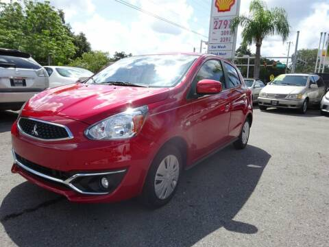 2018 Mitsubishi Mirage for sale at DeWitt Motor Sales in Sarasota FL