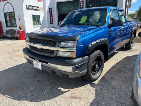 2003 Chevrolet Silverado 1500 for sale at Nelson's Straightline Auto - 23923 Burrows Rd in Independence WI
