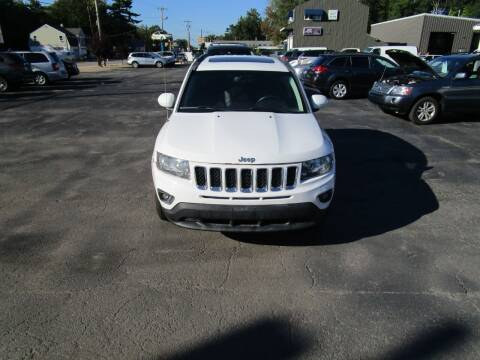 2015 Jeep Compass for sale at Route 12 Auto Sales in Leominster MA