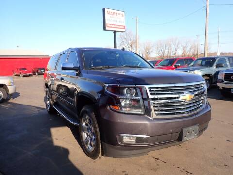 2015 Chevrolet Suburban for sale at Marty's Auto Sales in Savage MN