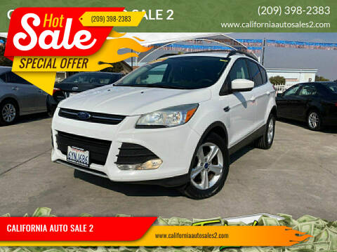 2013 Ford Escape for sale at CALIFORNIA AUTO SALE 2 in Livingston CA