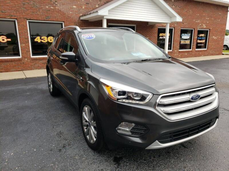 2018 Ford Escape for sale at Anthonys Auto Mall LLC in New Salisbury IN
