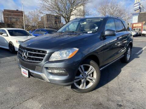 2014 Mercedes-Benz M-Class for sale at Sonias Auto Sales in Worcester MA
