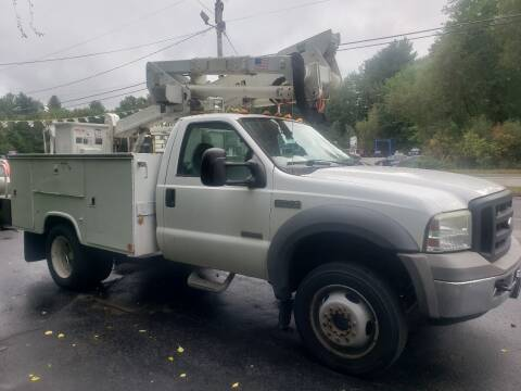 2005 Ford F-550 Super Duty for sale at A-1 Auto in Pepperell MA