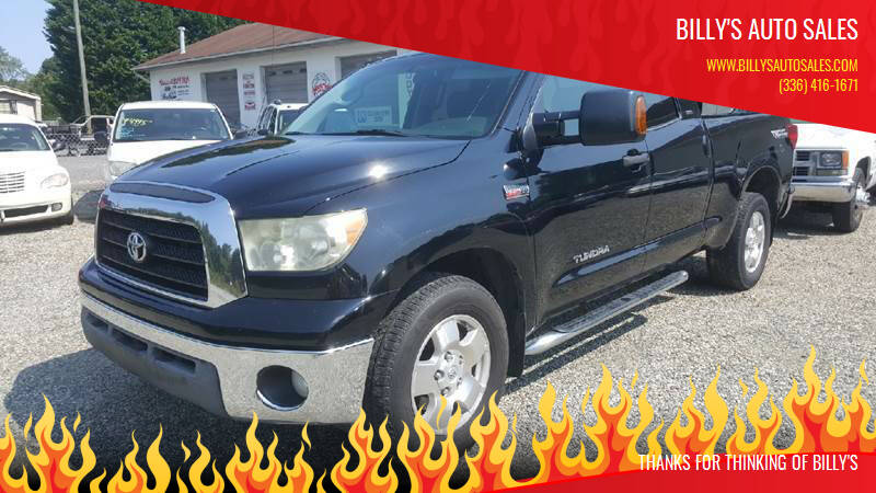 2008 Toyota Tundra for sale at Billy's Auto Sales in Winston Salem NC