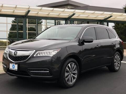 2015 Acura MDX for sale at GO AUTO BROKERS in Bellevue WA