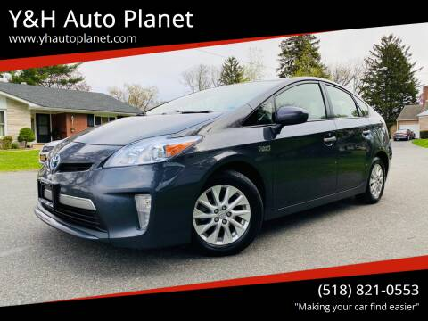 2013 Toyota Prius Plug-in Hybrid for sale at Y&H Auto Planet in West Sand Lake NY