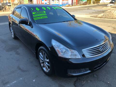 2008 Infiniti G35 for sale at James Motor Cars in Hartford CT