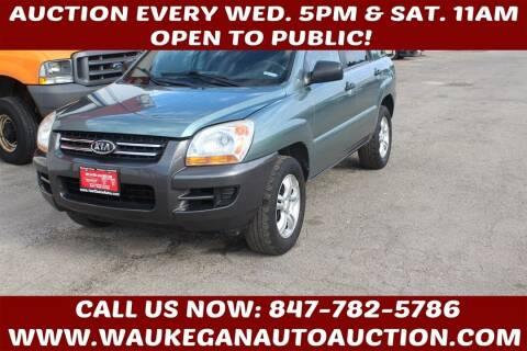 2006 Kia Sportage for sale at Waukegan Auto Auction in Waukegan IL