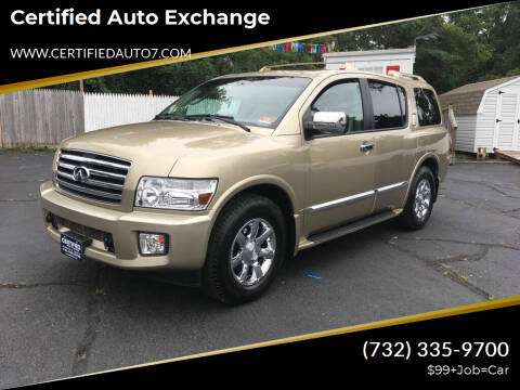 2006 Infiniti QX56 for sale at Certified Auto Exchange in Keyport NJ