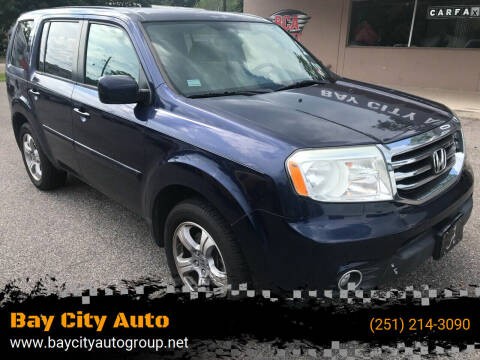 2013 Honda Pilot for sale at Bay City Auto's in Mobile AL