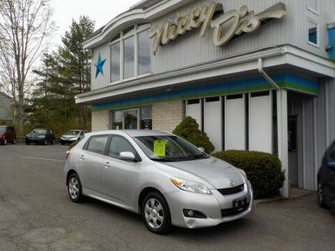 2010 Toyota Matrix for sale at Nicky D's in Easthampton MA