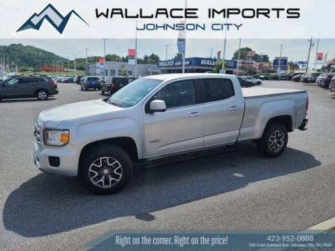 2017 GMC Canyon for sale at WALLACE IMPORTS OF JOHNSON CITY in Johnson City TN